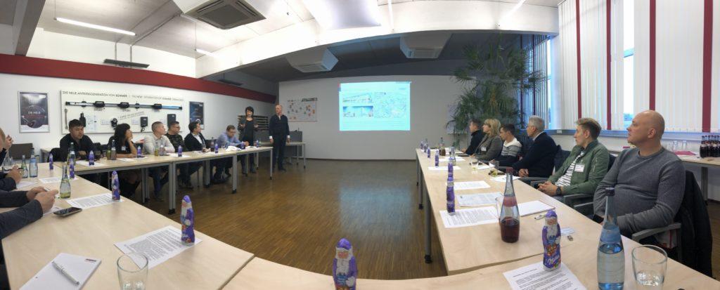 Собрание партнёров SOMMER с президентом компании